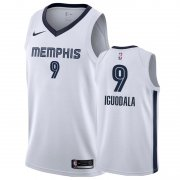 Wholesale Cheap Nike Grizzlies #9 Andre Iguodala White Association Edition Men's NBA Jersey