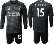 Wholesale Cheap Liverpool #15 Sturridge Third Long Sleeves Soccer Club Jersey