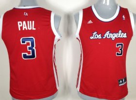 Wholesale Cheap Los Angeles Clippers #3 Chris Paul Red Womens Jersey