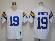 Wholesale Cheap Mitchell And Ness 1984 Chargers #19 Lance Alworth White Stitched NFL Jersey
