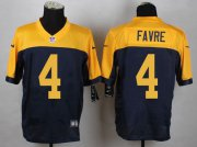 Wholesale Nike Packers #4 Brett Favre Navy Blue Alternate Men's Stitched NFL New Elite Jersey