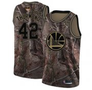 Wholesale Cheap Warriors #42 Nate Thurmond Camo 2019 Finals Bound Basketball Swingman Realtree Collection Jersey