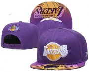 Wholesale Cheap Los Angeles Lakers Snapback Ajustable Cap Hat YD 18