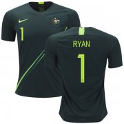 Wholesale Cheap Australia #1 Ryan Away Soccer Country Jersey