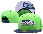 Wholesale Cheap NFL Seattle Seahawks Team Logo Snapback Adjustable Hat L79