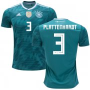 Wholesale Cheap Germany #3 Plattenhardt Away Kid Soccer Country Jersey