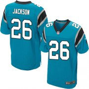 Wholesale Cheap Nike Panthers #26 Donte Jackson Blue Alternate Men's Stitched NFL Elite Jersey