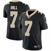 Wholesale Cheap Nike Saints #7 Taysom Hill Black Team Color Men's Stitched NFL Vapor Untouchable Limited Jersey