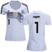 Wholesale Cheap Women's Germany #1 Trapp White Home Soccer Country Jersey
