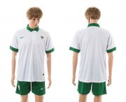 Wholesale Cheap Indonesia Blank White Away Soccer Country Jersey