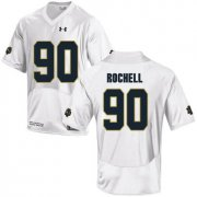 Wholesale Cheap Notre Dame Fighting Irish 90 Isaac Rochell White College Football Jersey