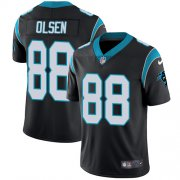 Wholesale Cheap Nike Panthers #88 Greg Olsen Black Team Color Youth Stitched NFL Vapor Untouchable Limited Jersey