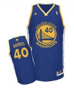 Wholesale Cheap Golden State Warriors #40 Harrison Barnes Blue Swingman Jersey