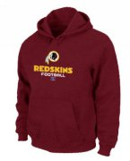 Wholesale Cheap Washington Redskins Critical Victory Pullover Hoodie Red