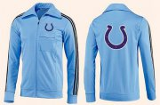 Wholesale Cheap NFL Indianapolis Colts Team Logo Jacket Light Blue_2