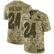 Wholesale Cheap Nike Cardinals #24 Adrian Wilson Camo Men's Stitched NFL Limited 2018 Salute to Service Jersey