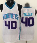 Wholesale Cheap Charlotte Hornets #40 Cody Zeller White Swingman Jersey