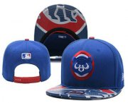 Wholesale Cheap Chicago Cubs Snapback Ajustable Cap Hat