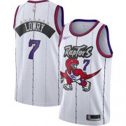 Wholesale Cheap Raptors #7 Kyle Lowry White Basketball Swingman Hardwood Classics Jersey
