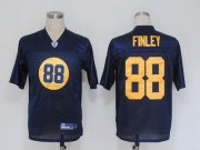 Wholesale Cheap Packers #88 Jermichael Finley Blue Stitched NFL Jersey