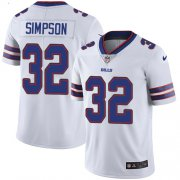 Wholesale Cheap Nike Bills #32 O. J. Simpson White Men's Stitched NFL Vapor Untouchable Limited Jersey