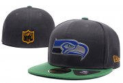 Wholesale Cheap Seattle Seahawks fitted hats 03
