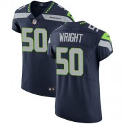 Wholesale Cheap Nike Seahawks #50 K.J. Wright Steel Blue Team Color Men's Stitched NFL Vapor Untouchable Elite Jersey