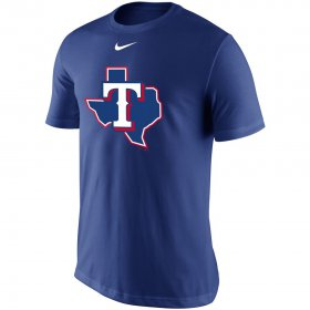 Wholesale Cheap Texas Rangers Nike Legend Batting Practice Primary Logo Performance T-Shirt Royal