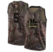 Wholesale Cheap Warriors #5 Kevon Looney Camo 2019 Finals Bound Basketball Swingman Realtree Collection Jersey