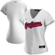 Wholesale Cheap Cleveland Indians Nike Women's Home 2020 MLB Team Jersey White