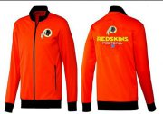 Wholesale Cheap NFL Washington Redskins Victory Jacket Orange
