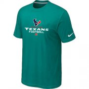 Wholesale Cheap Nike Houston Texans Critical Victory NFL T-Shirt Teal Green