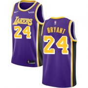Wholesale Cheap Nike Los Angeles Lakers #24 Kobe Bryant Purple NBA Swingman Statement Edition Jersey