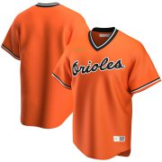 Wholesale Cheap Baltimore Orioles Nike Alternate Cooperstown Collection Team MLB Jersey Orange