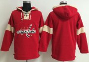 Wholesale Cheap Washington Capitals Blank Red Pullover NHL Hoodie