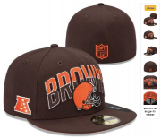 Wholesale Cheap Browns fitted hats