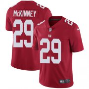 Wholesale Cheap Nike Giants #29 Xavier McKinney Red Alternate Youth Stitched NFL Vapor Untouchable Limited Jersey
