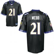 Wholesale Cheap Ravens #21 Lardarius Webb Black Stitched NFL Jersey