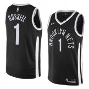 Wholesale Cheap NBA Brooklyn Nets #1 Dangelo Russell Jersey 2017-18 New Season City Edition Jersey