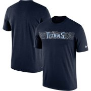 Wholesale Cheap Tennessee Titans Nike Sideline Seismic Legend Performance T-Shirt Navy