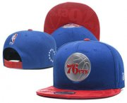 Wholesale Cheap Philadelphia 76ers Snapback Ajustable Cap Hat YD 3