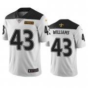 Wholesale Cheap New Orleans Saints #43 Marcus Williams White Vapor Limited City Edition NFL Jersey