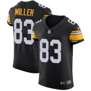 Wholesale Cheap Nike Steelers #83 Heath Miller Black Alternate Men's Stitched NFL Vapor Untouchable Elite Jersey
