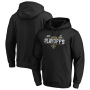 Wholesale Cheap New Orleans Saints 2019 NFL Playoffs Bound Chip Shot Pullover Hoodie Black