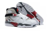 Wholesale Cheap Womens Air Jordan 8 Countdown Pack White/Gray-Red-Black