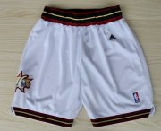 Wholesale Cheap Philadelphia 76ers White Short