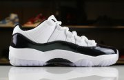 Wholesale Cheap Womens Air Jordan 11 Low Easter White/Emerald Rise