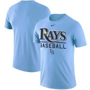 Wholesale Cheap Tampa Bay Rays Nike Practice Performance T-Shirt Blue