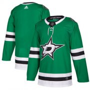 Wholesale Cheap Adidas Stars Blank Green Home Authentic Stitched NHL Jersey