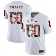 Wholesale Cheap Washington State Cougars 60 Andre Dillard White Fashion College Football Jersey